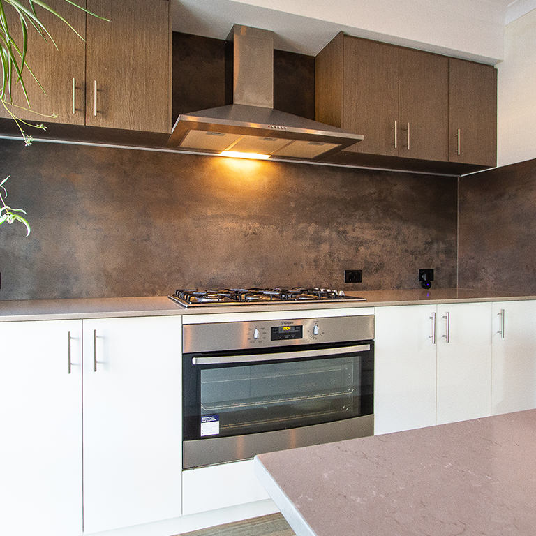 Matte Kitchen Splashback - Vedastone